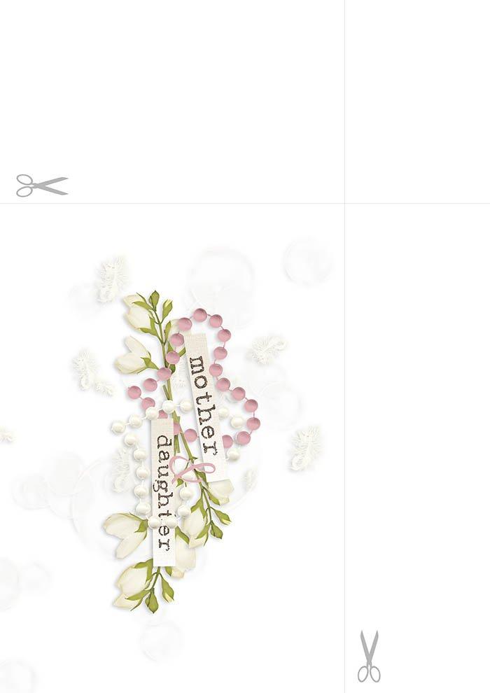 Papel de Carta - Dia da Maes