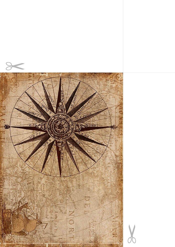 Papel de carta Bussola