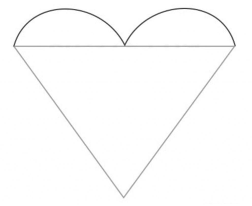 como desenhar um coracao passo 2