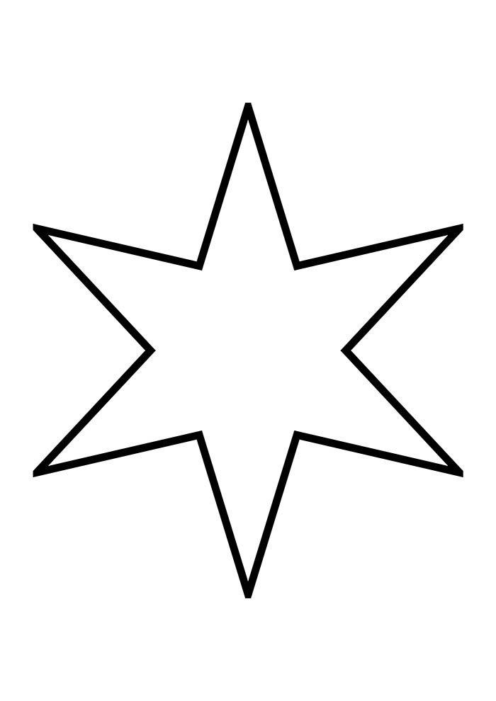 estrela 6 pontas natal