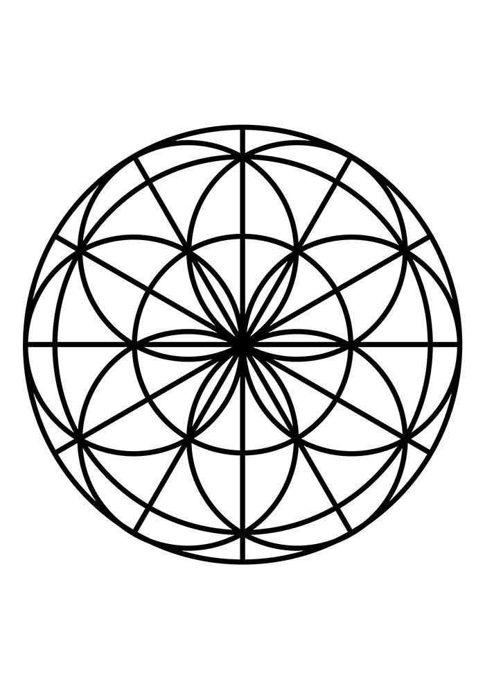 Mandala significado familia