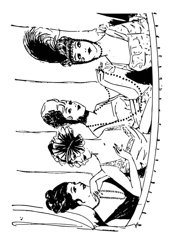 meninas carnaval