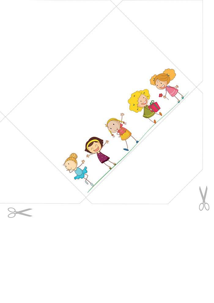 Envelope para imprimir grátis