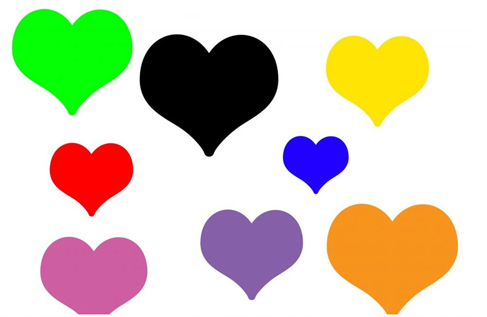 O significado dos corações e dos emojis de coração