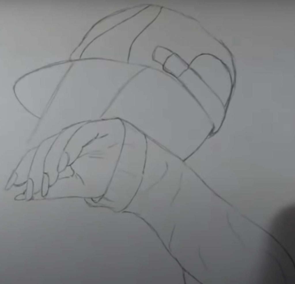 como desenhar menina tumblr passo 11