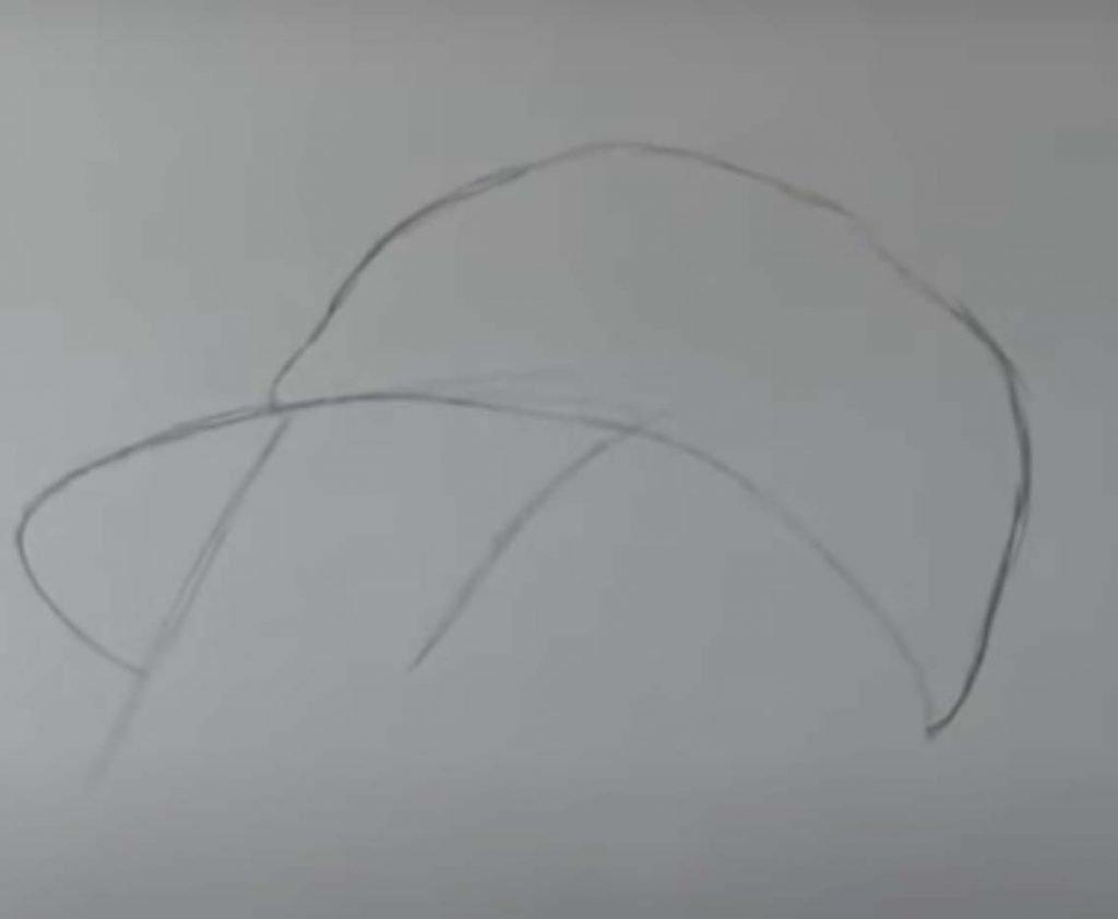 como desenhar menina tumblr passo 3