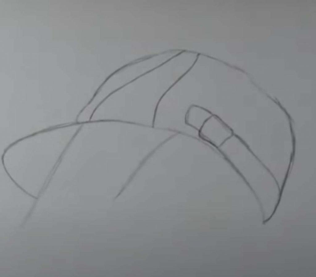 como desenhar menina tumblr passo 5