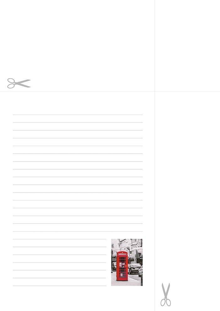 papel de carta londres