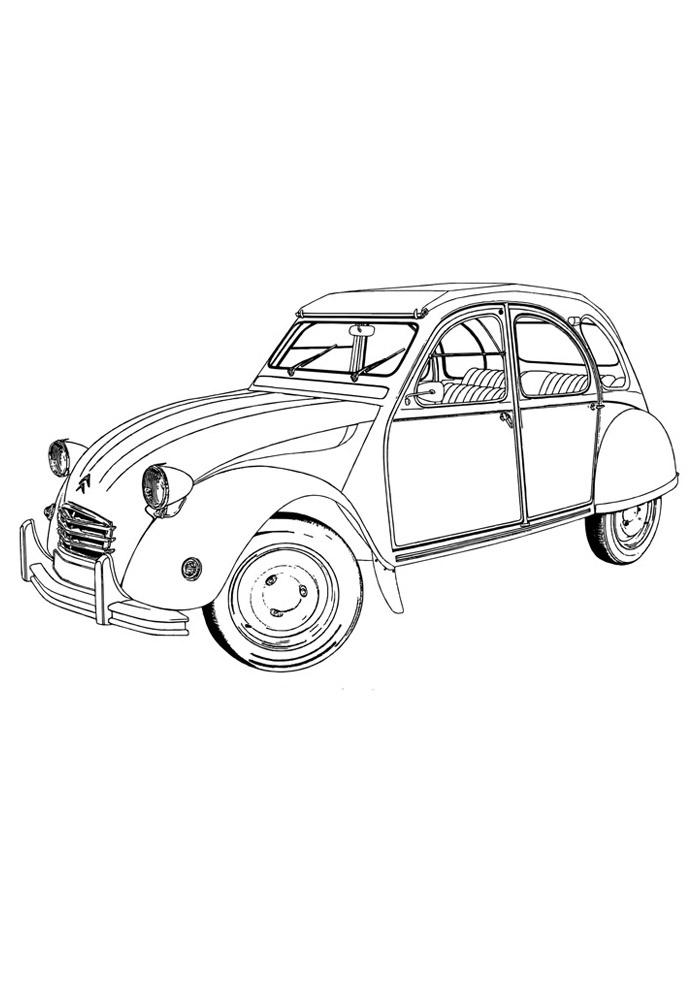 carros para colorir 10