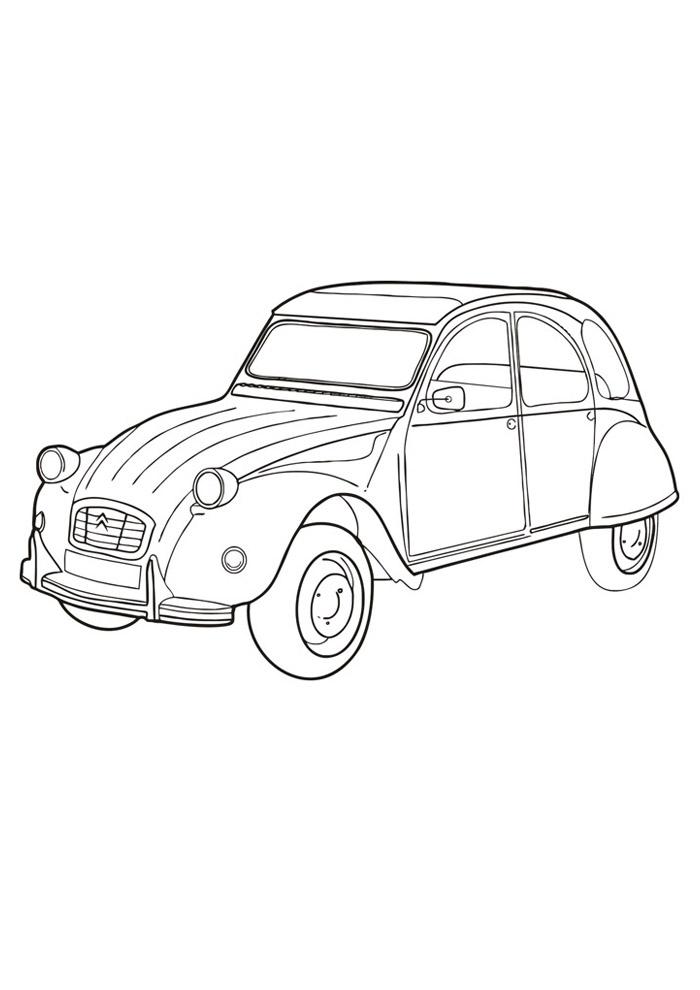 carros para colorir 11