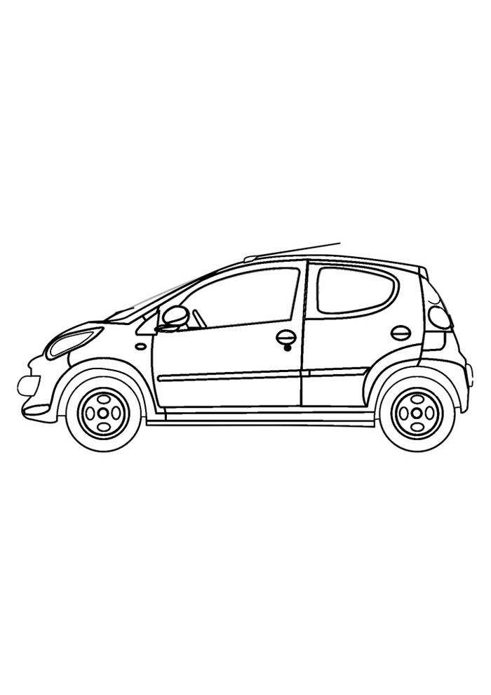 carros para colorir 2