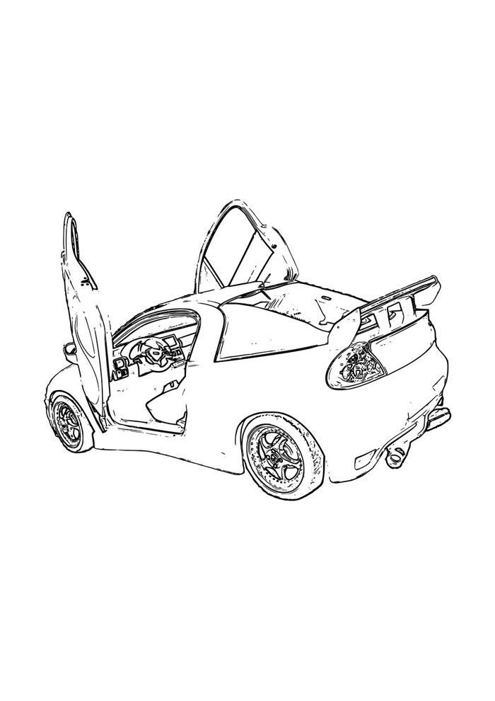 carros para colorir 26
