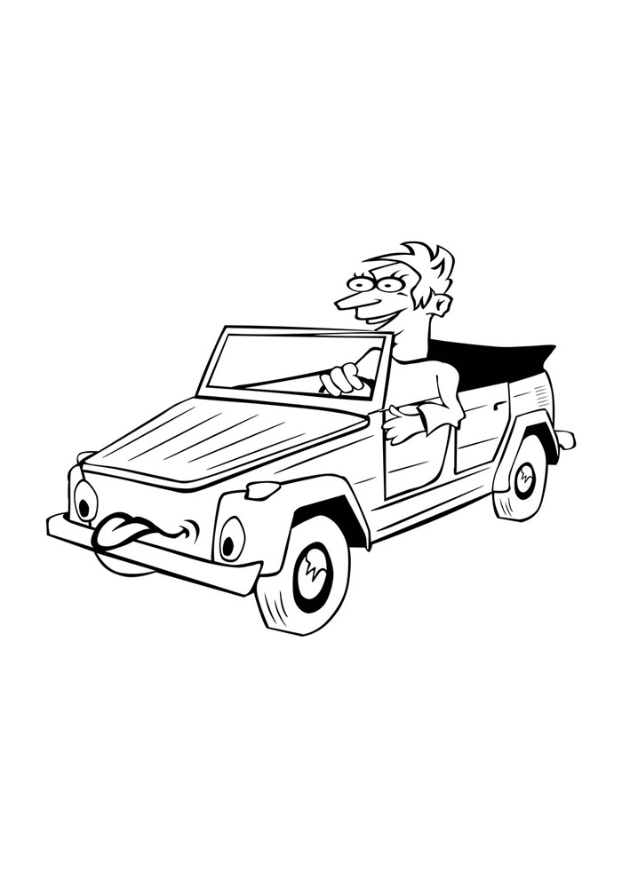 carros para colorir 29