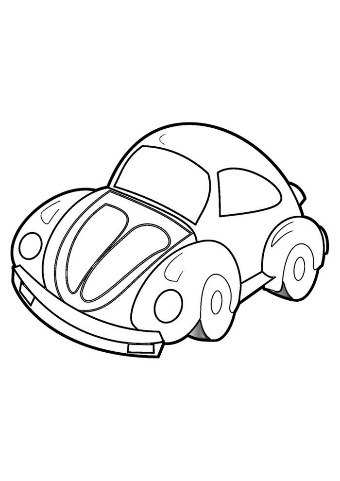 carros para colorir 3