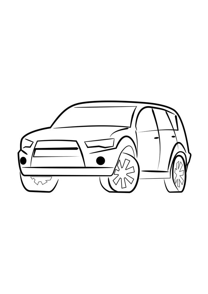 carros para colorir 30