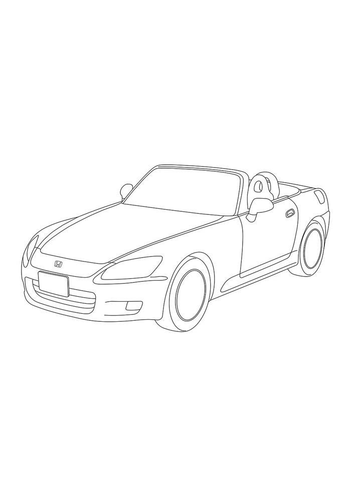 carros para colorir 36