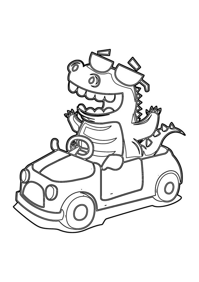 carros para colorir 38