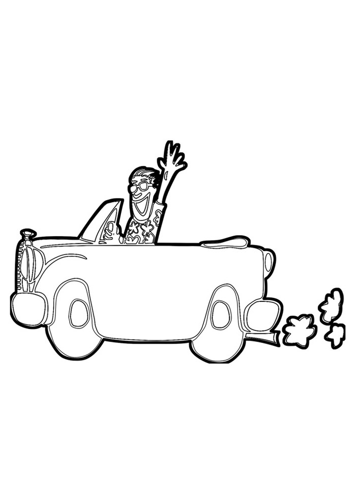 carros para colorir 46