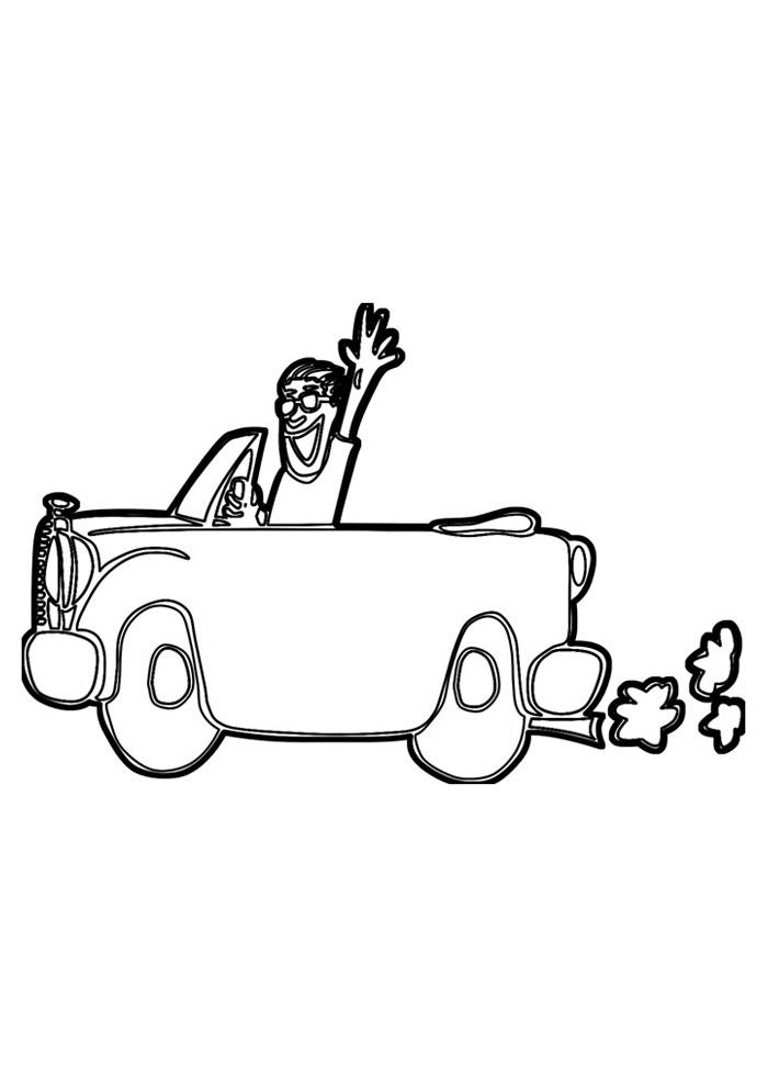 carros para colorir 5