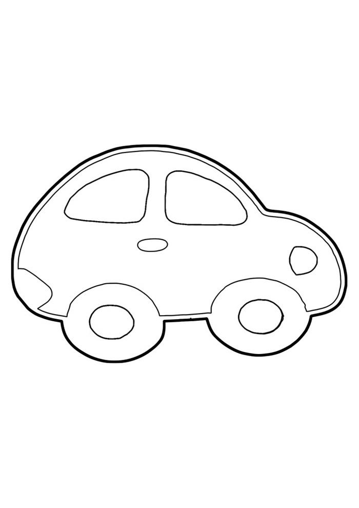 carros para colorir 9