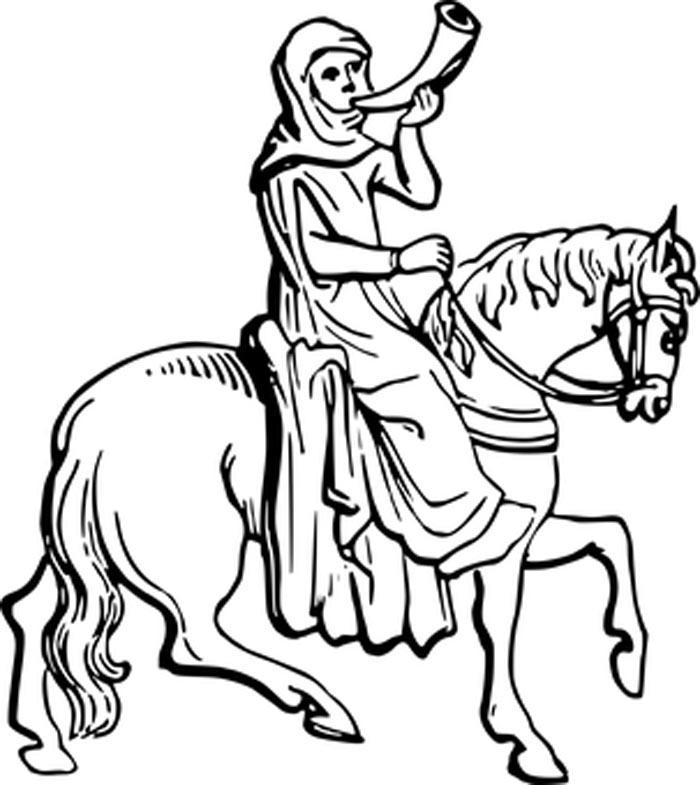 Cavalo imagem para colorir