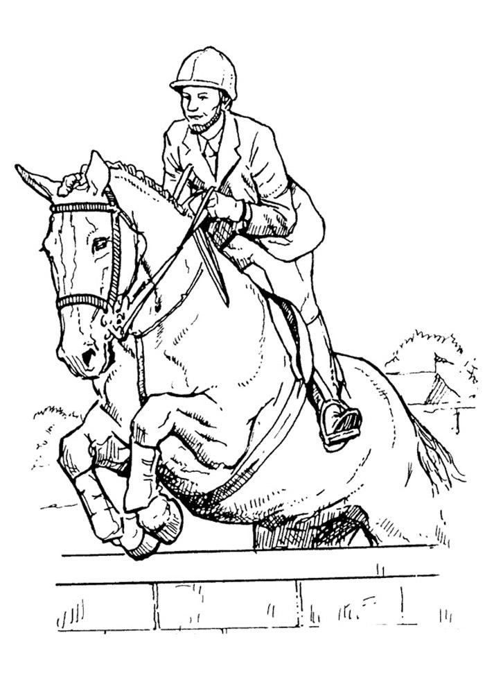 cavalo para colorir 39