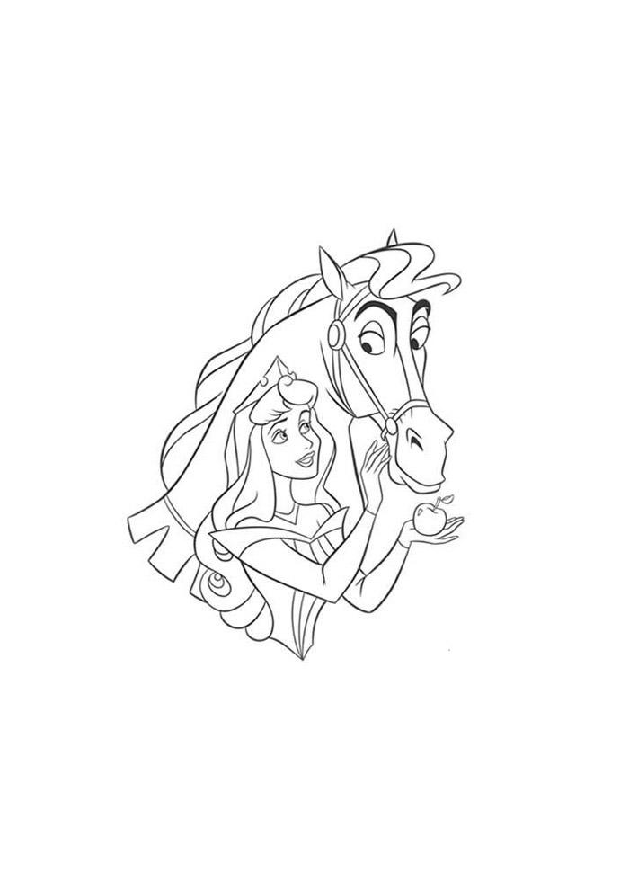 cavalo para colorir 53