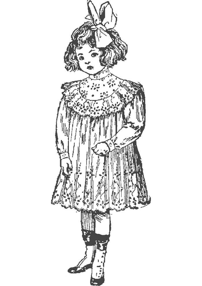 criança vintage