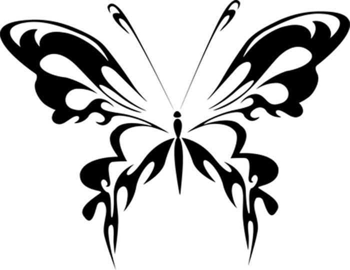 Desenho borboleta para colorir