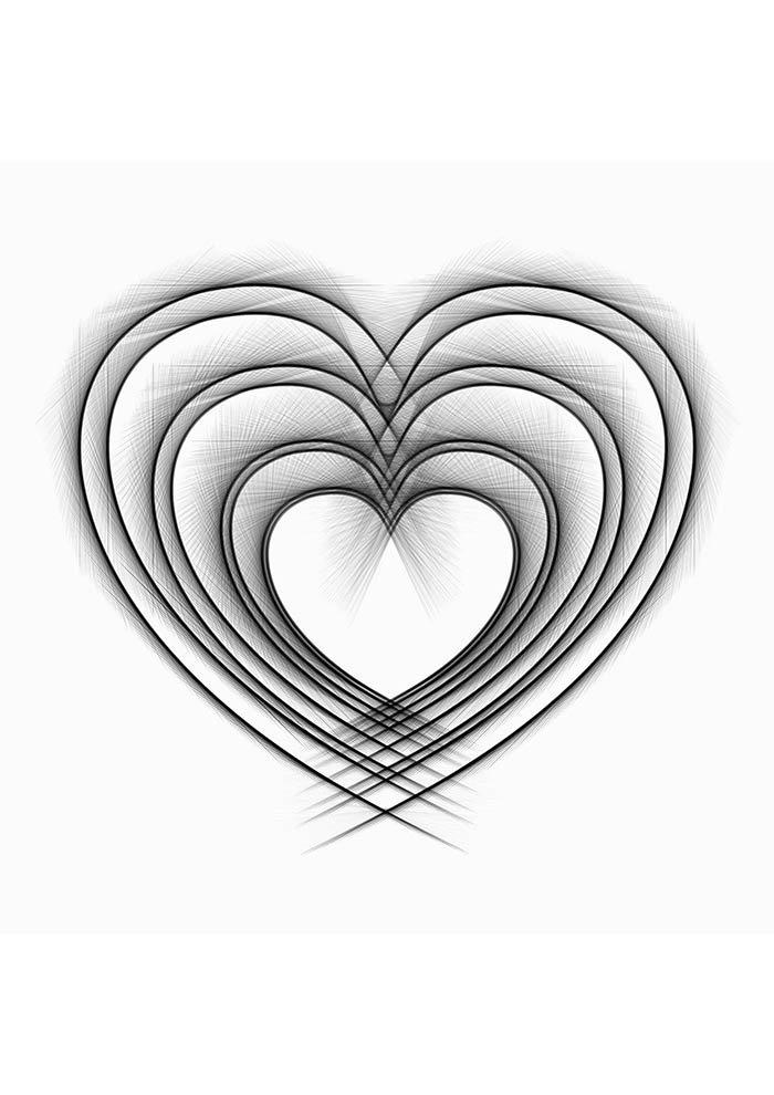 desenho coração tumblr