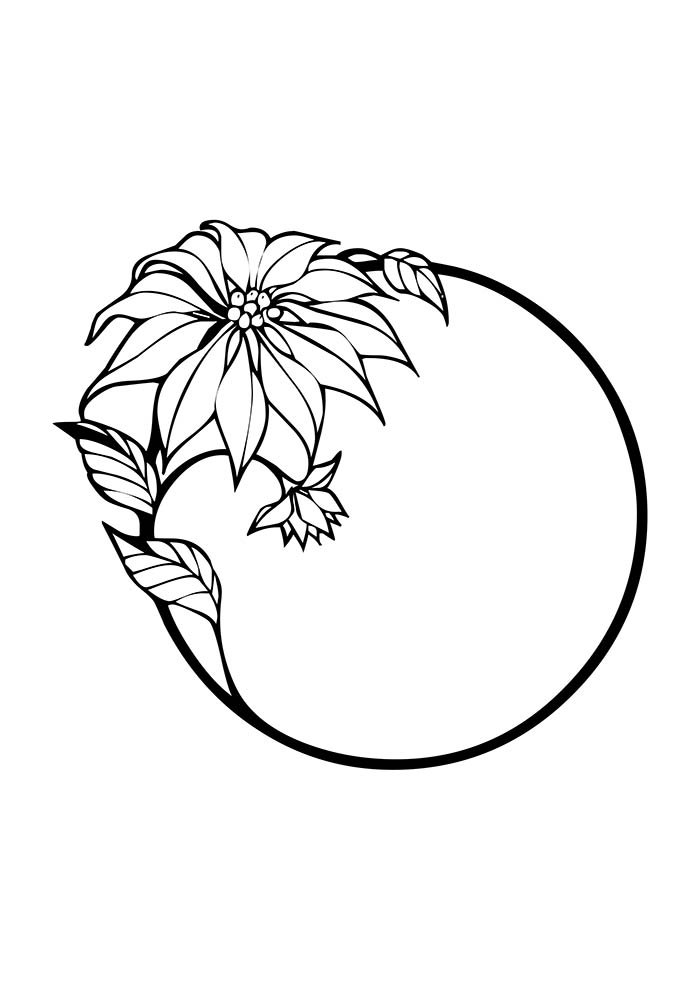 desenho de natal para colorir bola de natal