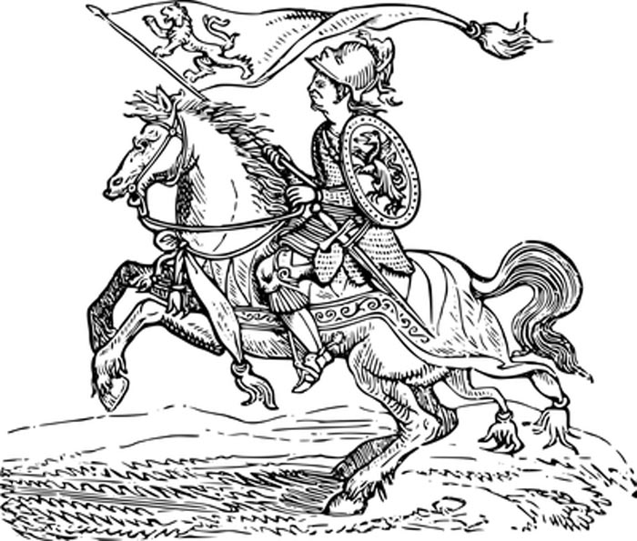 Desenho do cavalo para imprimir e colorir