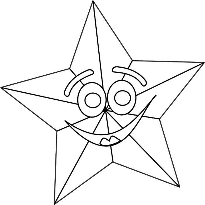 Desenho estrela