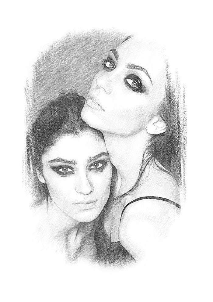 desenho irma tumblr