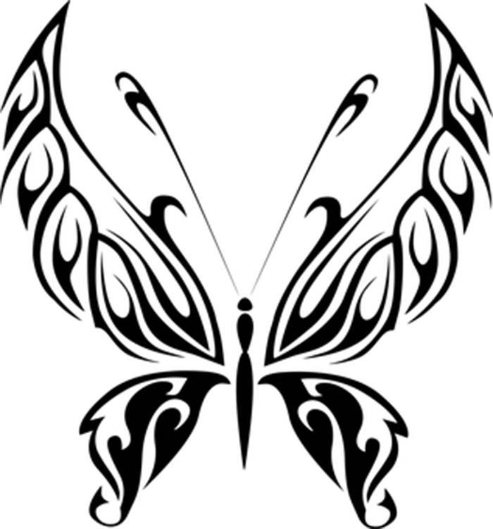 Desenho para colorir borboleta