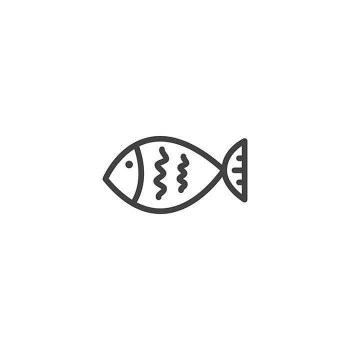 Desenho peixinho para colorir