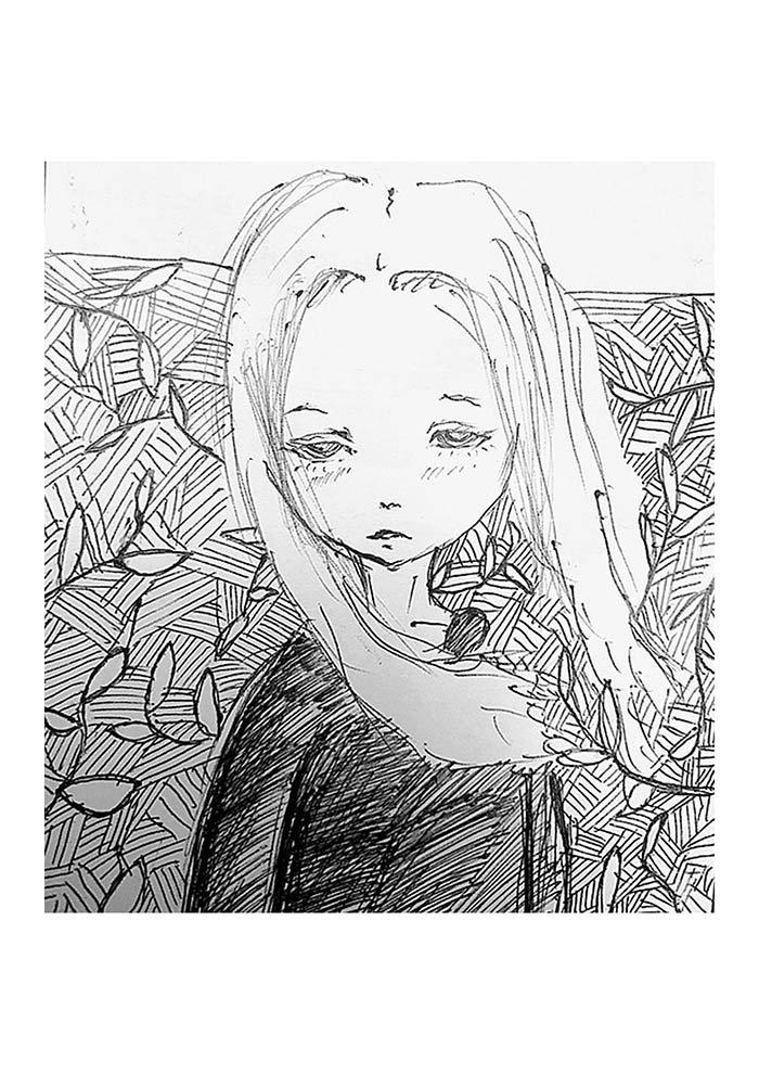 desenho tumblr branco e preto