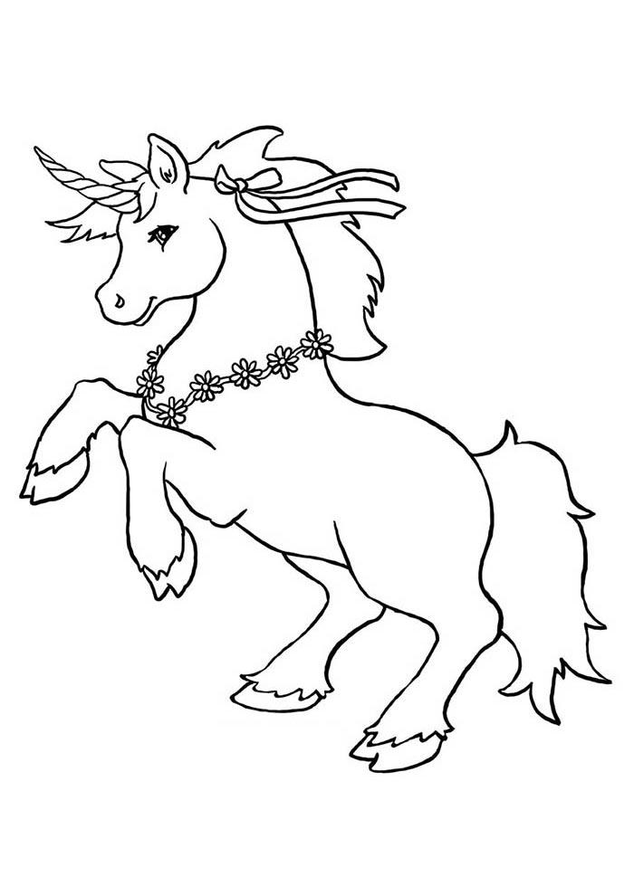 48 Desenhos De Unicornios Para Imprimir E Colorir