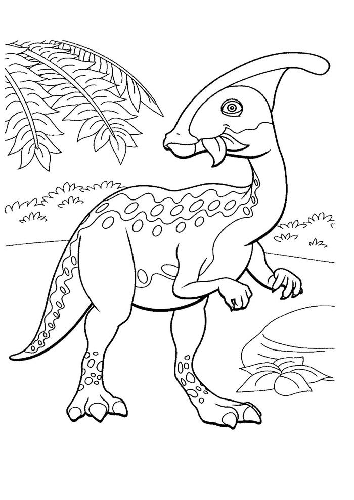 dinossauro para colorir 15