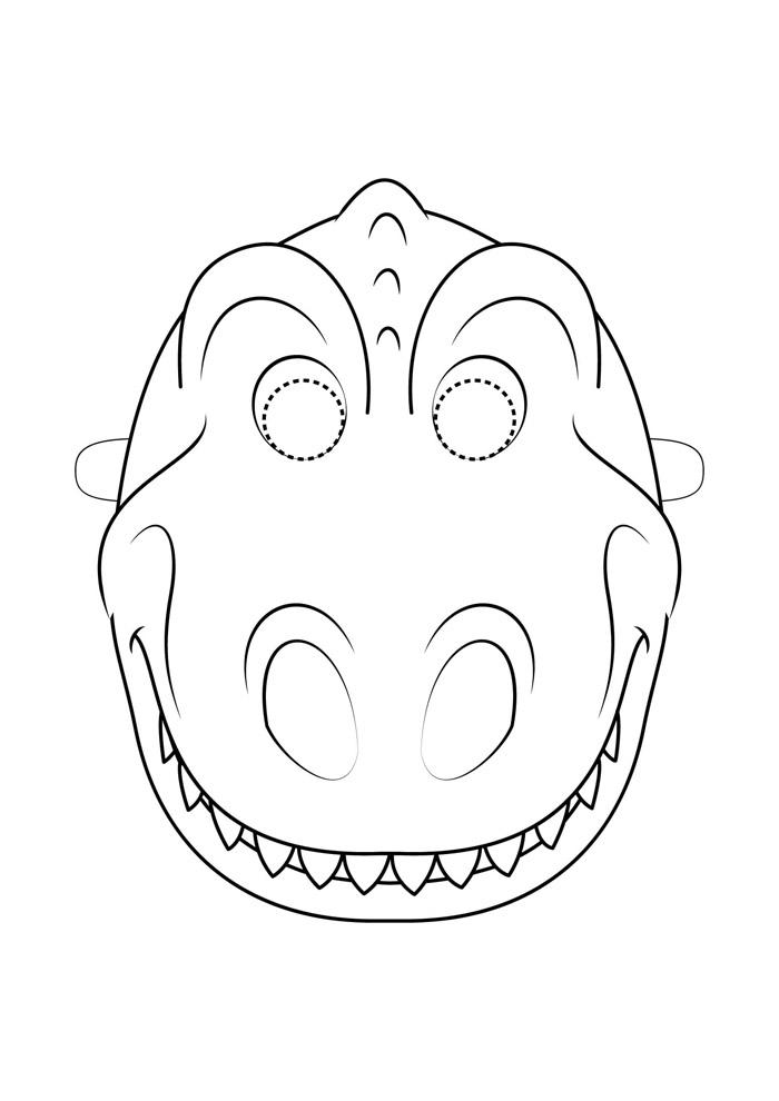 dinossauro para colorir 19