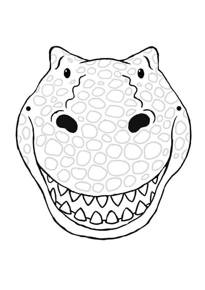 dinossauro para colorir 26