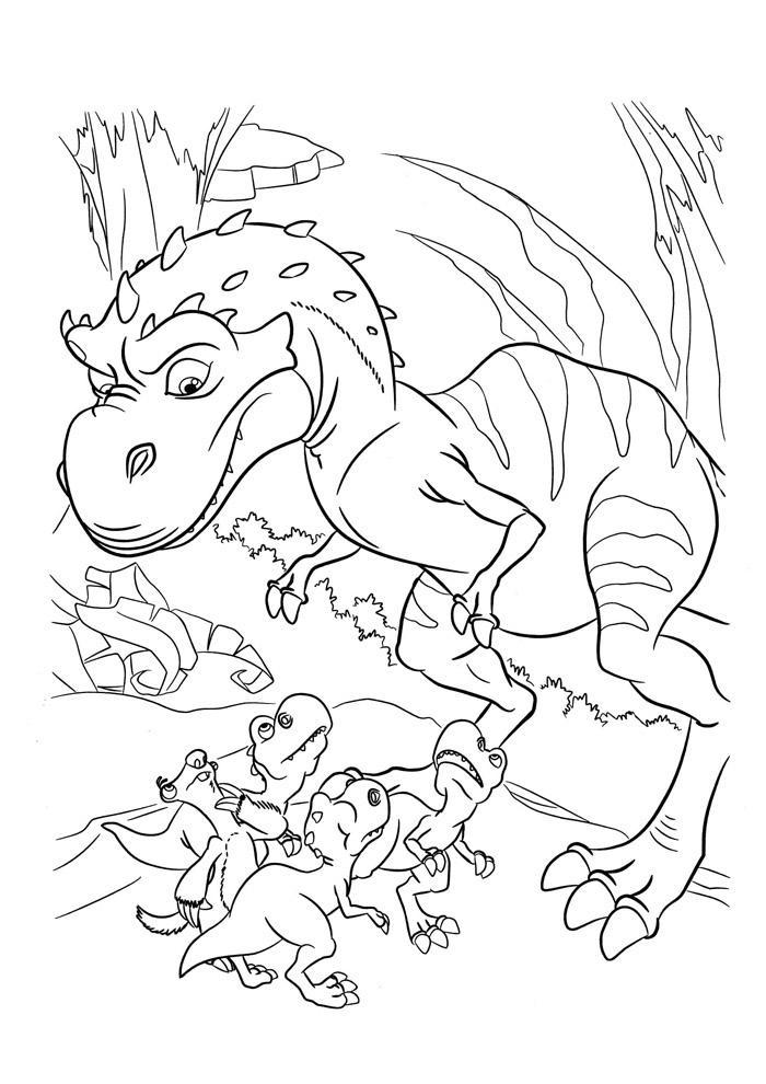 dinossauro para colorir 3