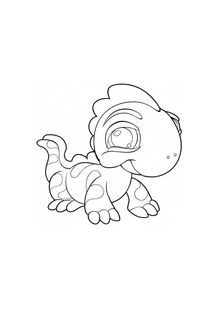 dinossauro para colorir 31