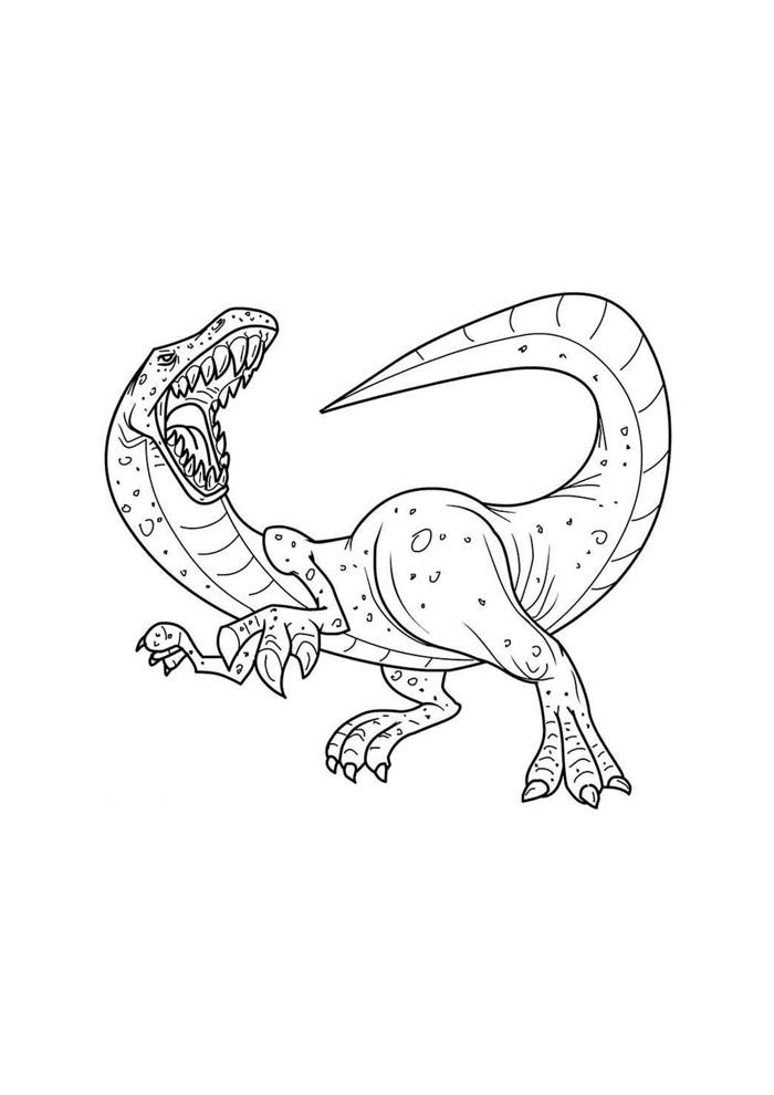 dinossauro para colorir 33