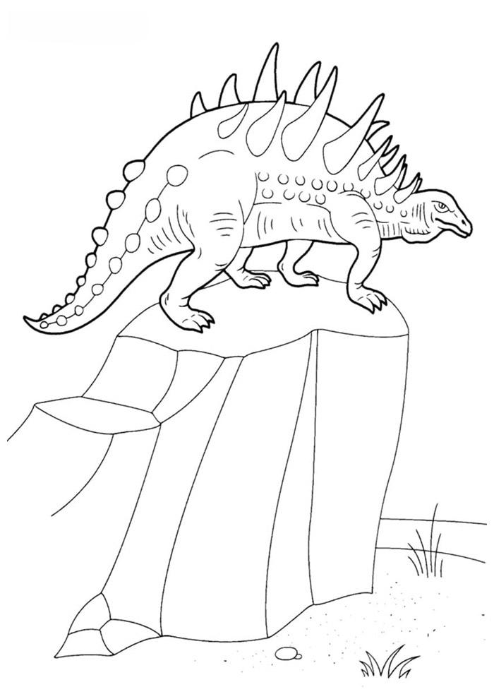 dinossauro para colorir 35
