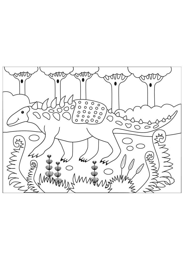 dinossauro para colorir 36