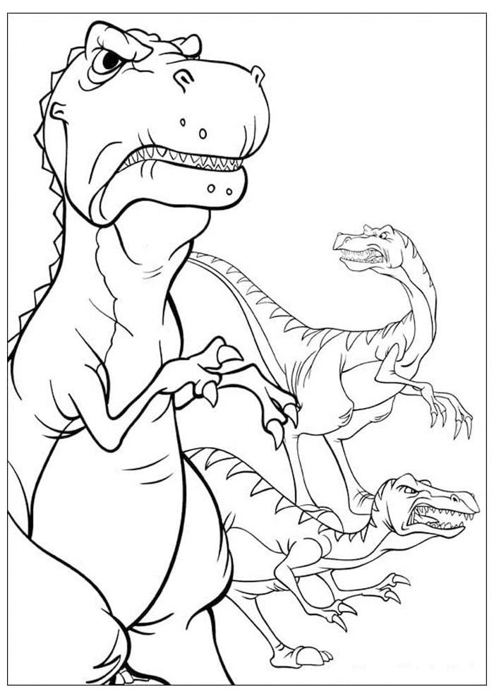 dinossauro para colorir 37