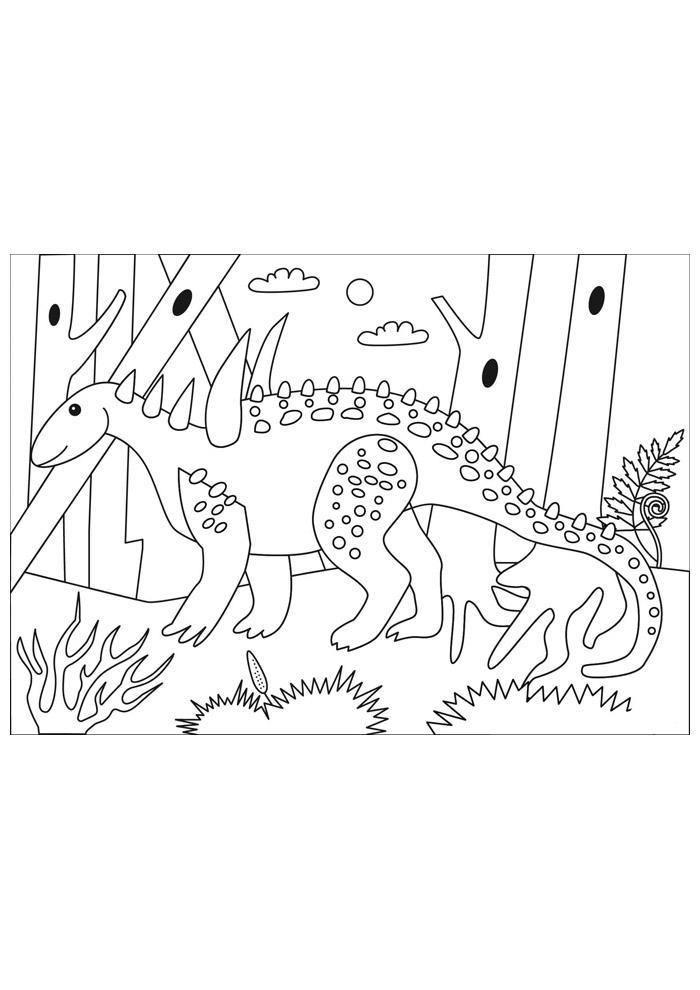 dinossauro para colorir 40