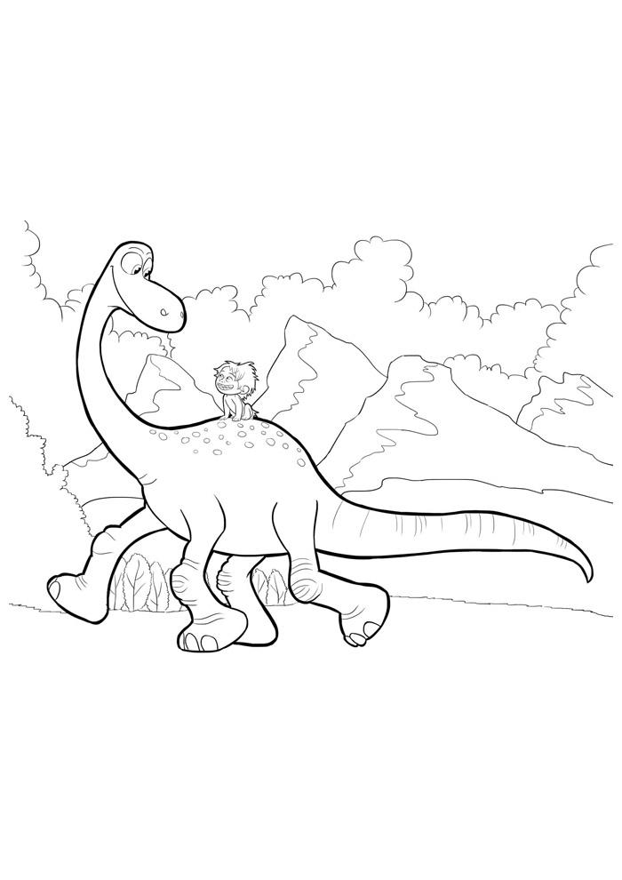 dinossauro para colorir 41
