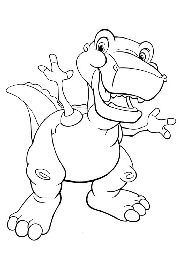 dinossauro para colorir 44